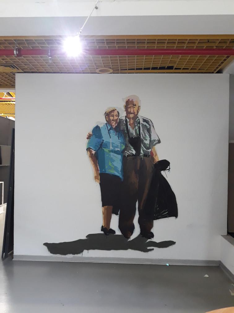 תיירים 1 - גלריה עירונית עפולה
