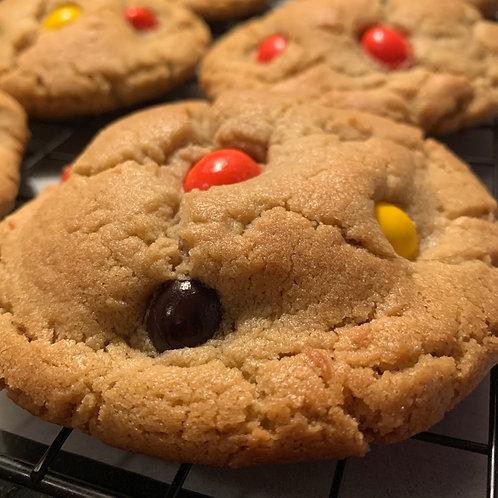 Candy Peanut Peanut Butter Cookies