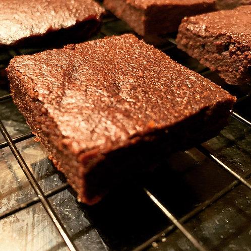 Keto/Paleo Fudgy Brownie (dairy free)