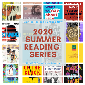 From BARWE  [Building Anti-Racist White Educators] - A Summer Reading Series - Sign Up in Links below: