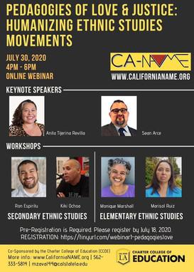 Pedagogies of Love & Justice: Humanizing Ethnic Studies Movements