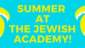 Summer at TJA!