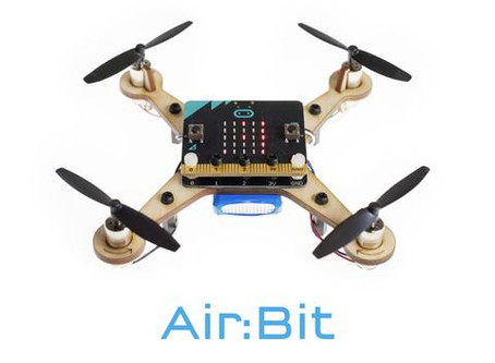 CodeCreates partners with MaKeKit to offer their micro:bit drone and hovercraft kits in UK