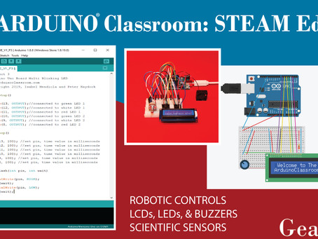 CodeCreates partners with Gearbox Labs to provide Arduino publications and kits in the UK and Europe