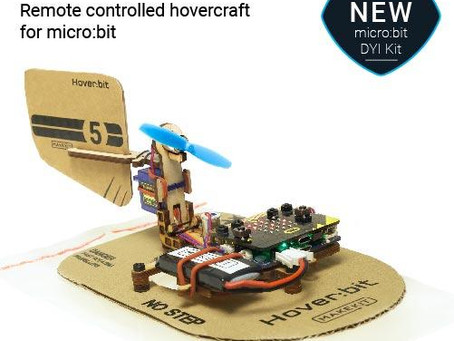 New Arrival in store, the Hover:Bit 2.0 Rechargeable Hovercraft for BBC micro:bit
