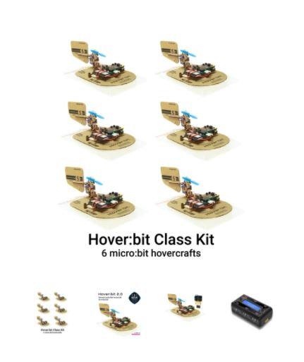 Hover:bit micro:bit Hovercraft Class Kit (6 units)