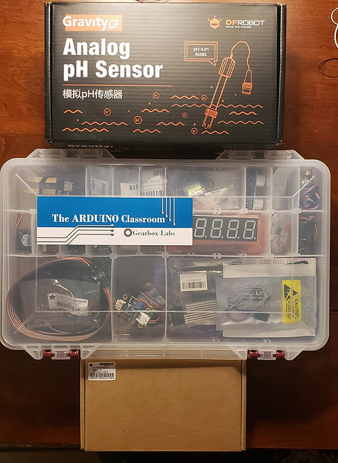 The ARDUINO® Classroom: STEAM Edition Starter Expansion Kit