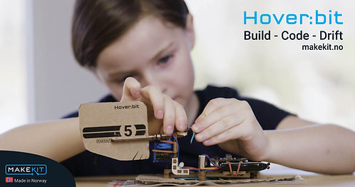 Hover:bit micro:bit hovercraft Add on kit for Air:bit drone Kit