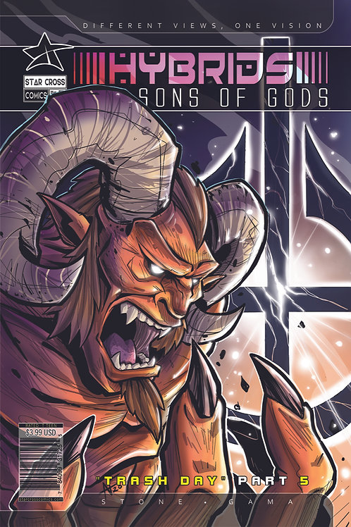 Hybrids: The Sons of Gods #5 (Action)