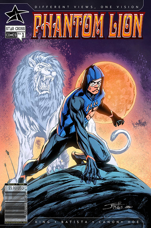 Phantom Lion #1 (Action)