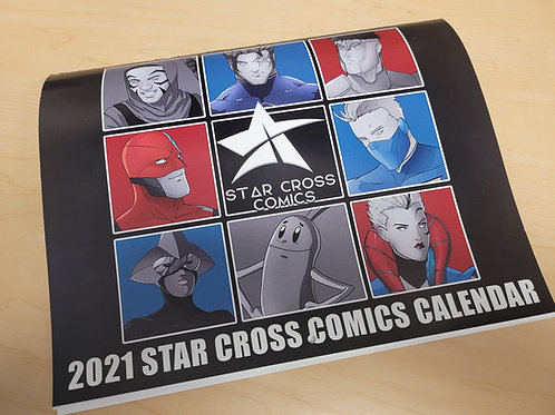 2021 Star Cross Calendar