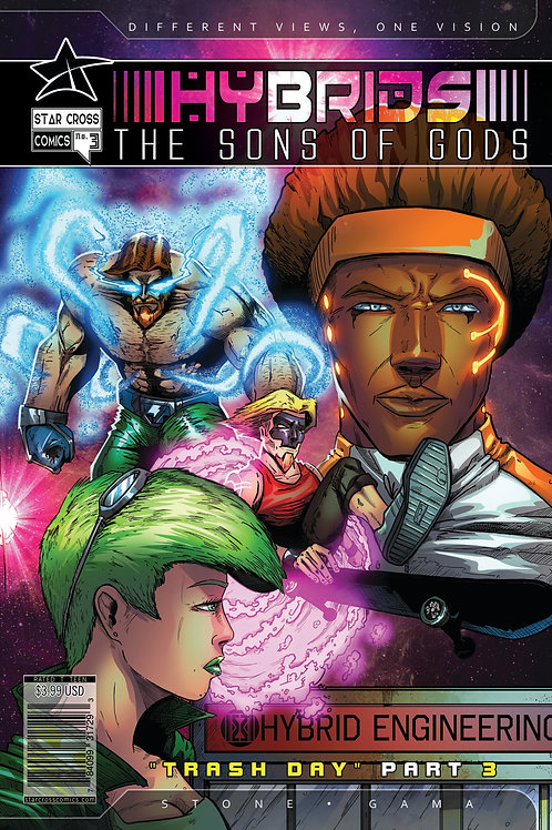 Hybrids: The Sons of Gods #3 (Action)