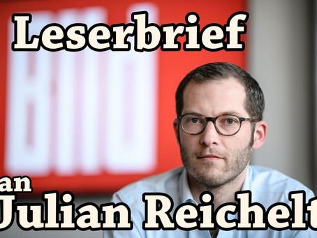 Leserbrief an Julian Reichelt