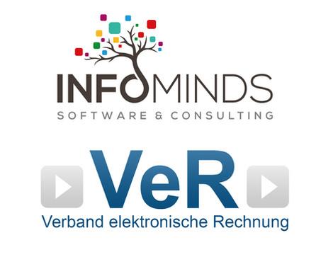 Infominds als Mitglied der VeR - ein solider Partner der elektronischen Rechnung