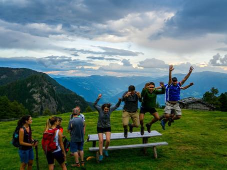 First Hiking Event - Zirmait Alm