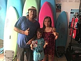 récompenses trophées surf