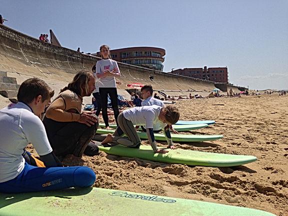 Cours de Surf Capbreton