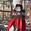 Thumbnail: Ensemble Sonia et Robert D. (robe, bonnet, chaussons) - duvet peigné baby yak