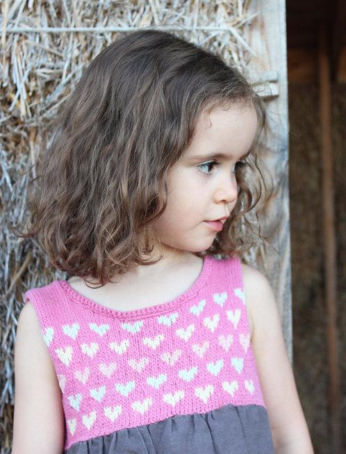 Robe tricotée Elsa T. - Pur coton pima bio et équitable