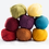 Thumbnail: Duo Aline & Auguste R. (bonnet et gilet) - coton/lin