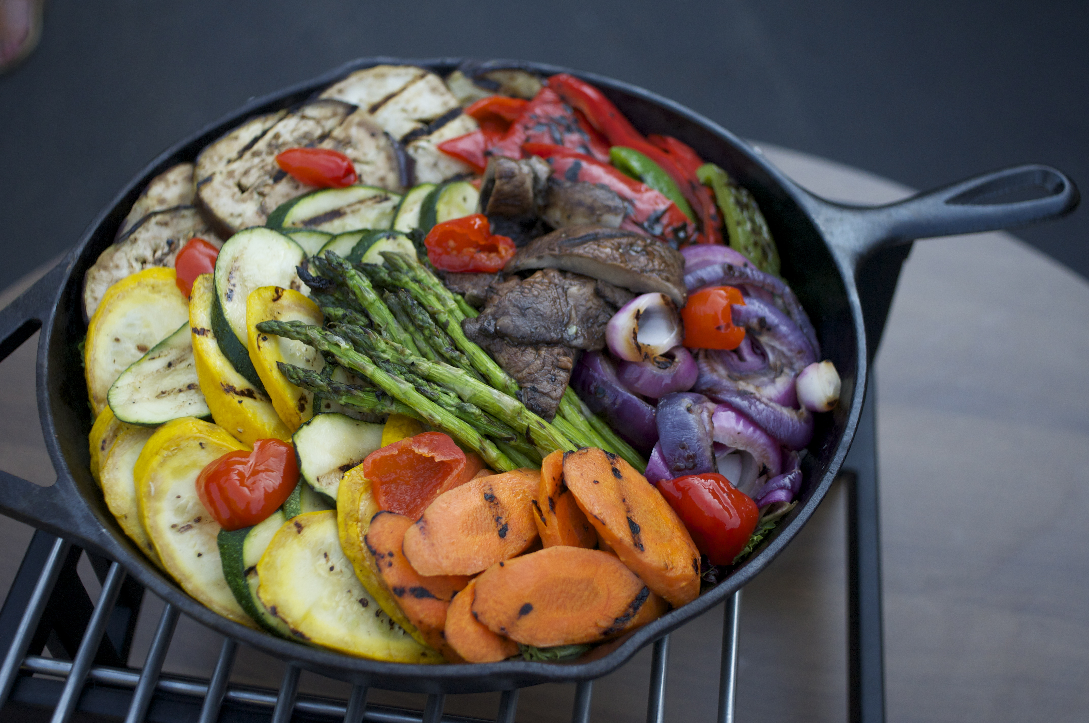 Wood Oven Roasted Vegetable