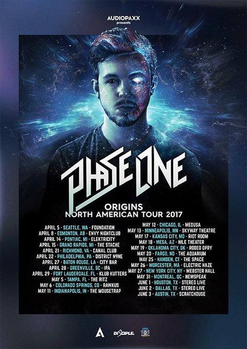 PhaseOne 2017 Origins World Tour
