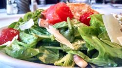 il mito wauwatosa roasted raddish crumbled feta blistered cherry tomatoes fresh spinach salad