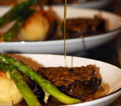 Grass fed Beef tenderloin at Zesti