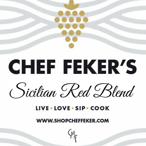 Nero d'Avola, Cab, Sicilian Blend, Chef Feker's Private Label