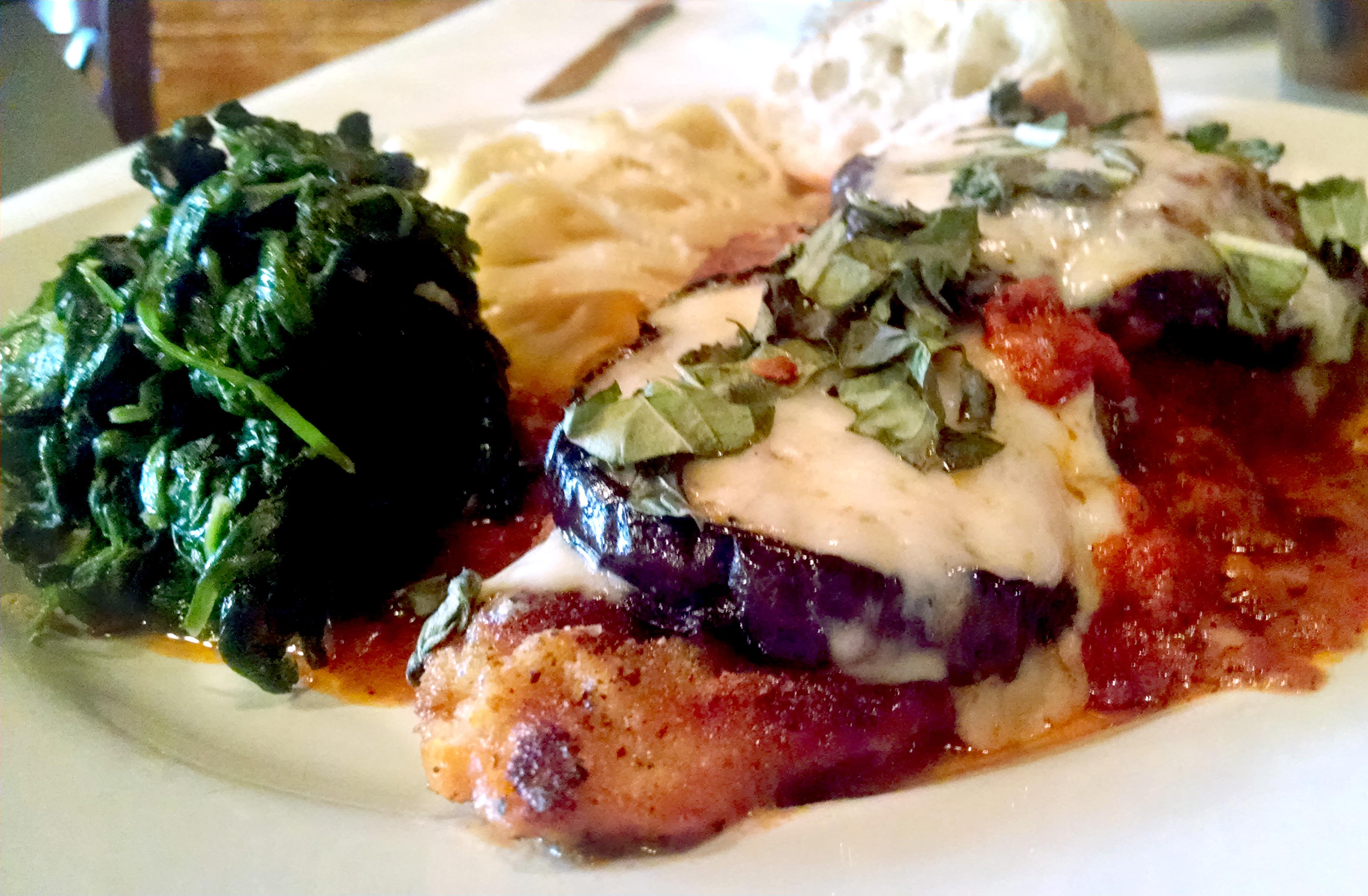 Organic Chicken Parmesan
