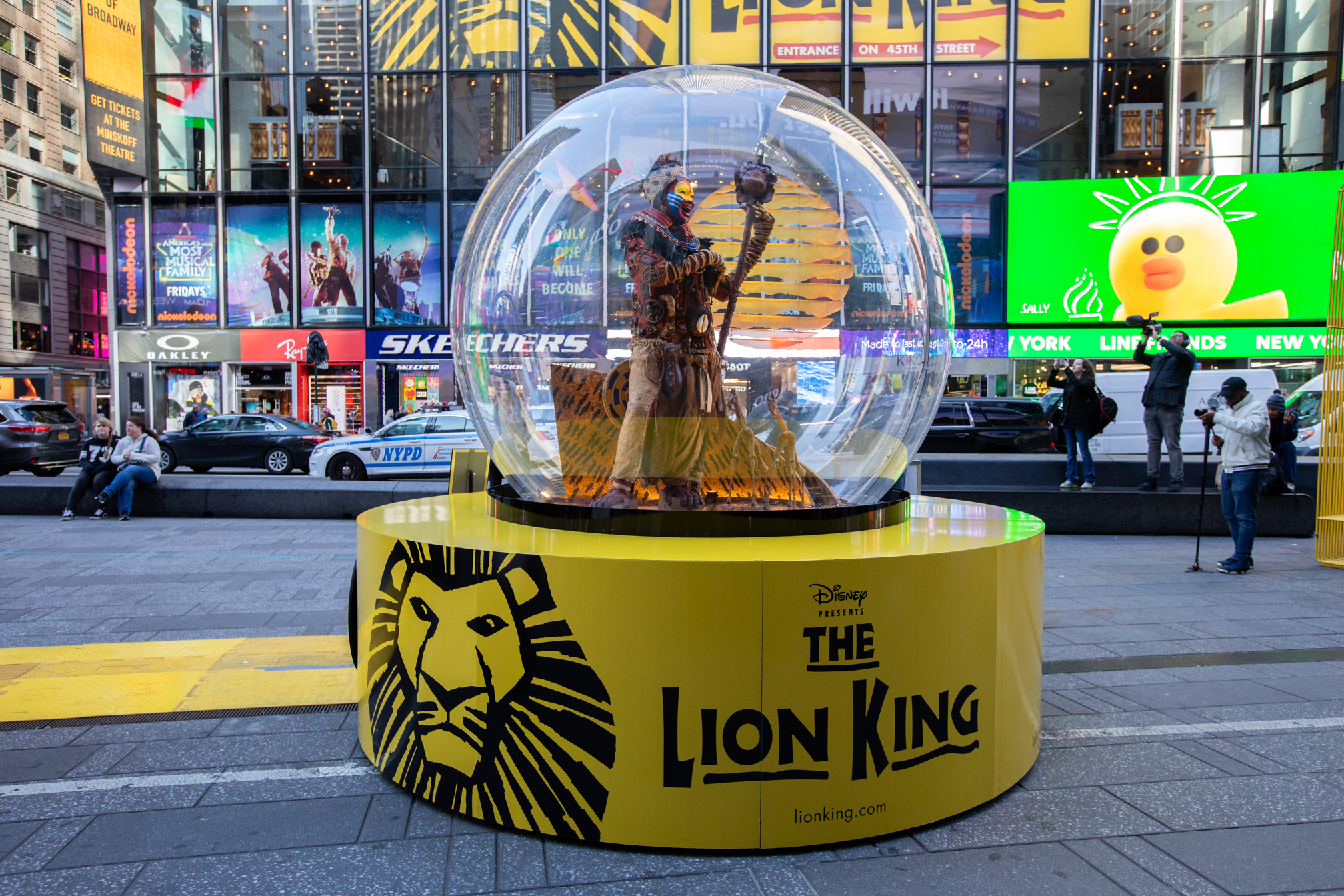 LION KING SNOW GLOBE