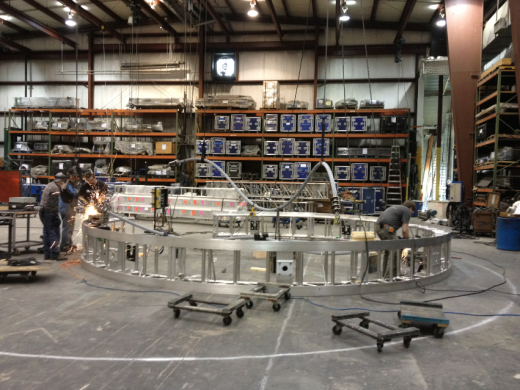 Inside look at STREB construction