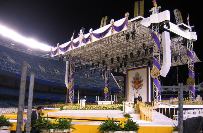 PAPAL MASS BY POPE BENEDICT XVI