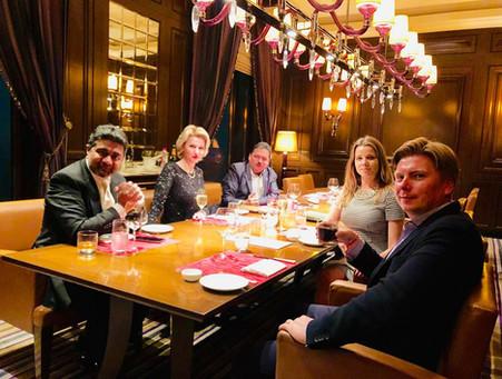 Abhishek Verma with Family & Friends