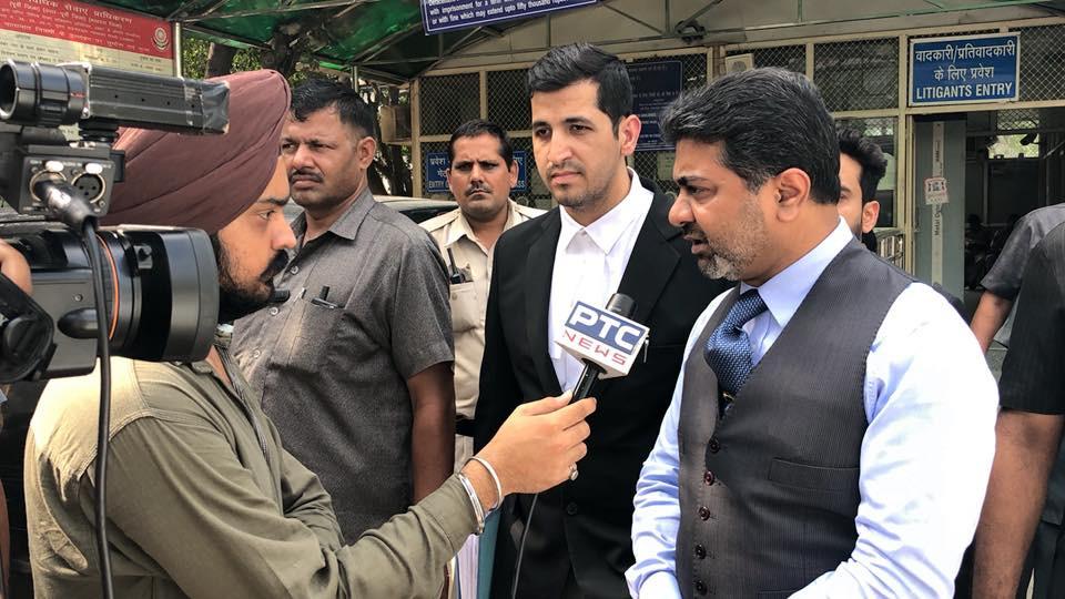 Abhishek Verma with PTV News