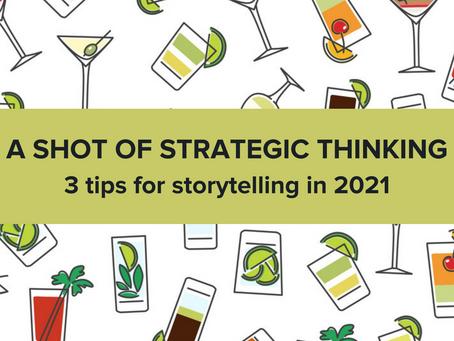 A shot of strategic thinking