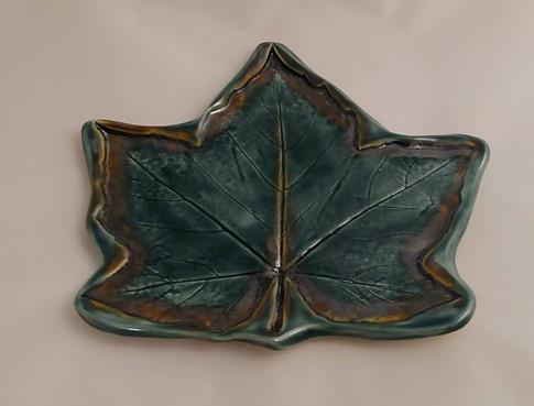Maple Leaf Platter