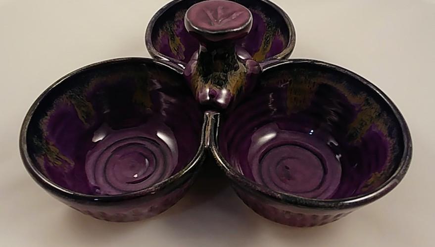 Triple Bowl - $45 - Sold