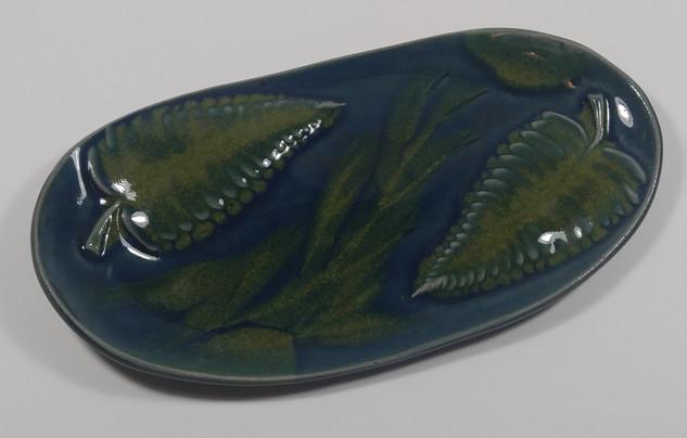 Oval Hand Built Platter
