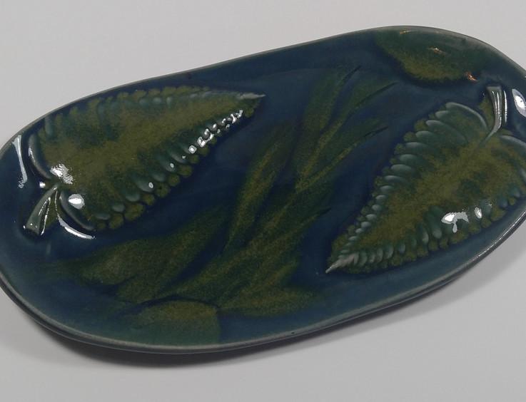 Oval Hand Built Platter - $45