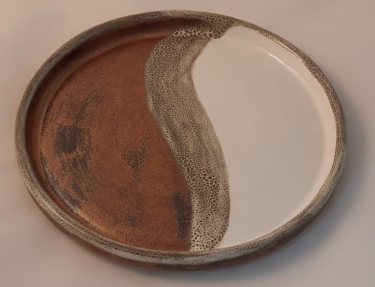 Thrown Plate - $35