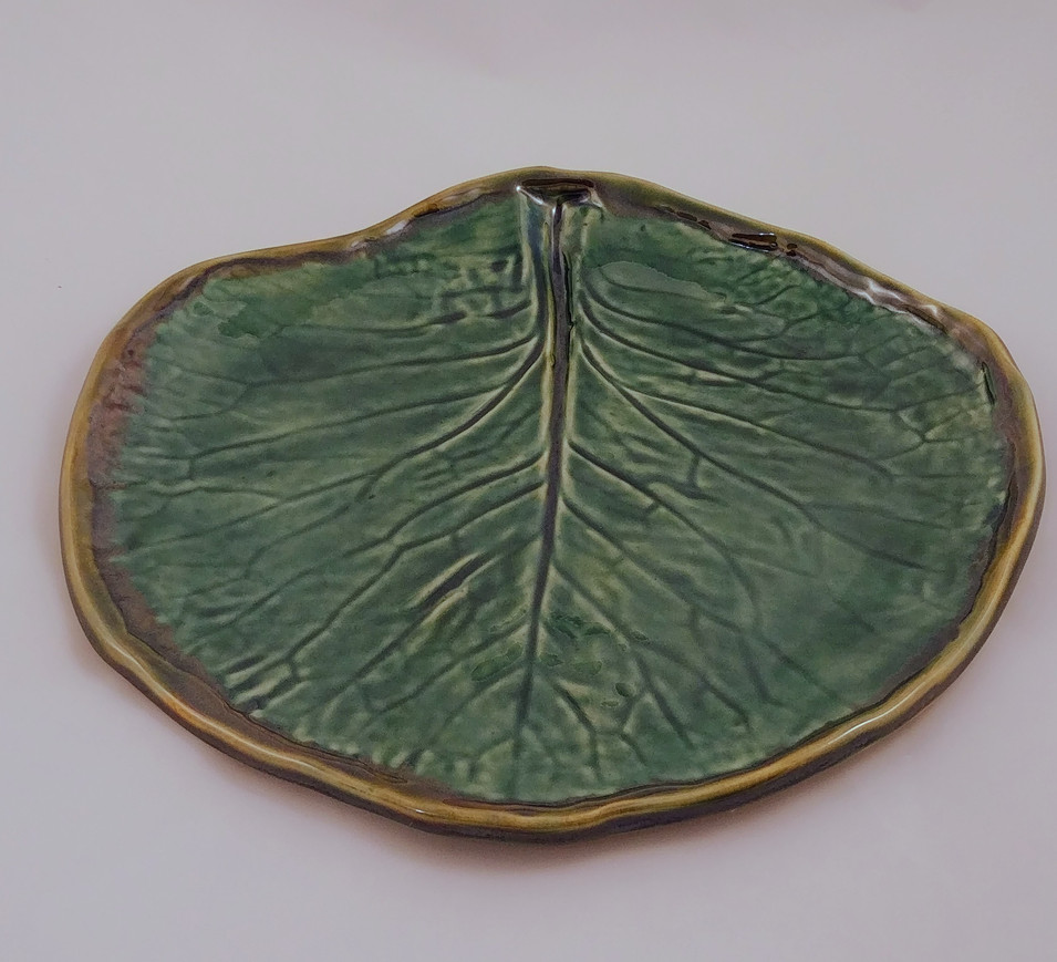 Hand Built Platter - $35 - Sold