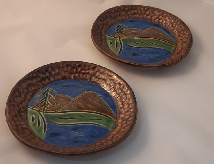 Painted Plates - $35 each