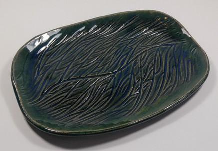 Hand Built Platter - $35
