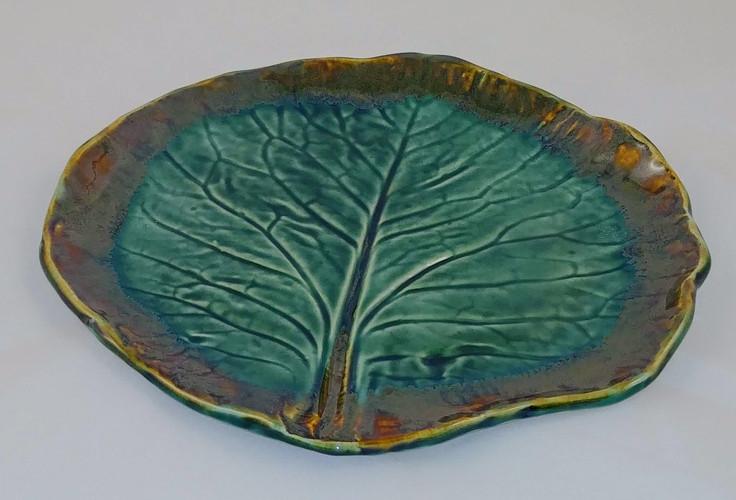 Leaf Platter - Sold