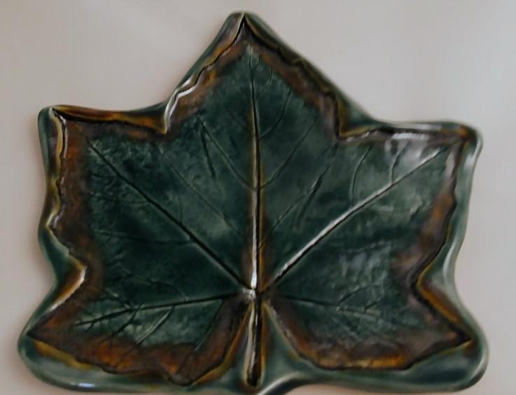 Hand Built Leaf - $25