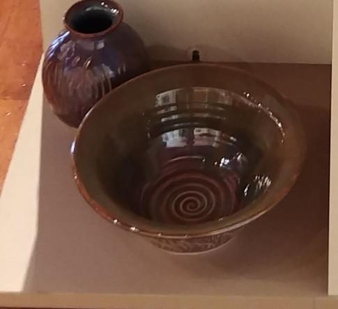 Vase and Large Bowl