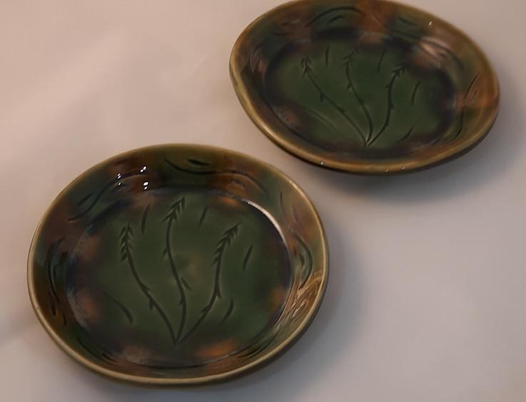 Hand Built Plate - $25 each