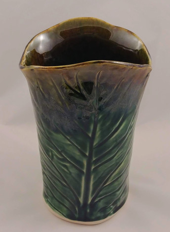 Hand Built Vase - $75