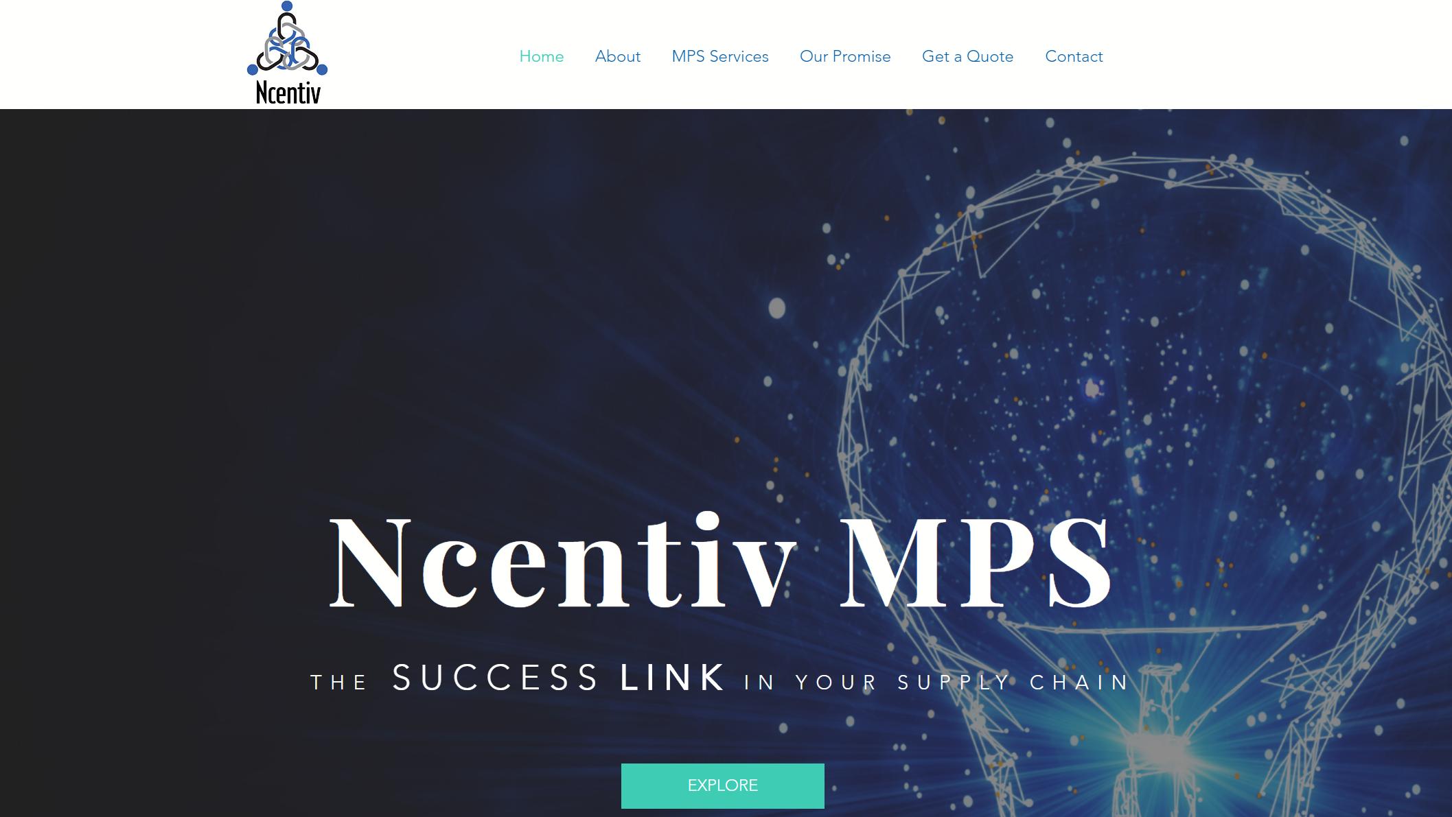 Ncentiv MPS Website